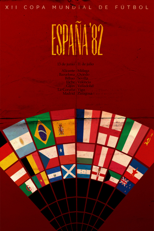 Fifa World Cup 1982 Poster