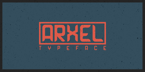 ARXEL A Free Typeface