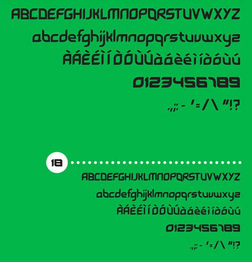 Leave Font