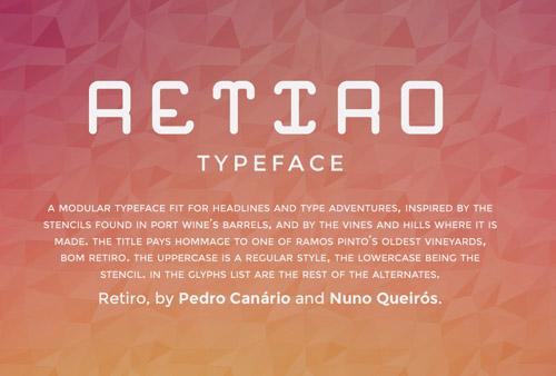 Retiro Font