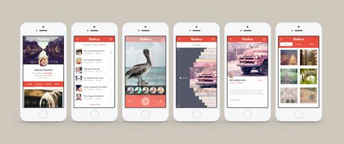 Photolove iOS7 Design App Concept