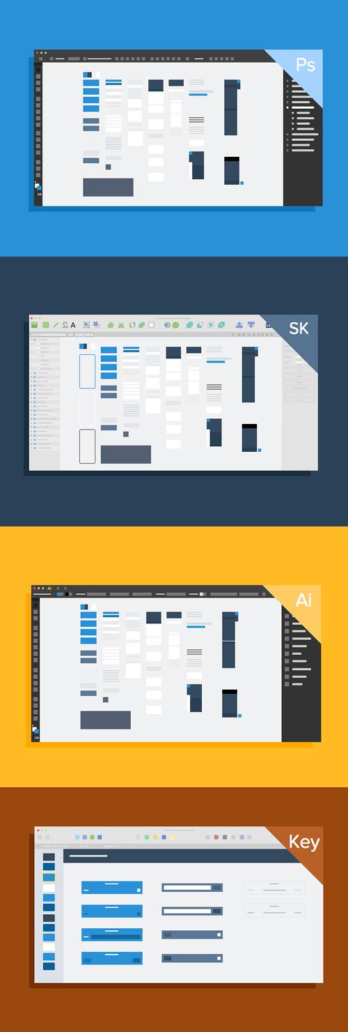 UI Kit Thumbails