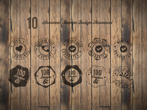 10 Badges Free