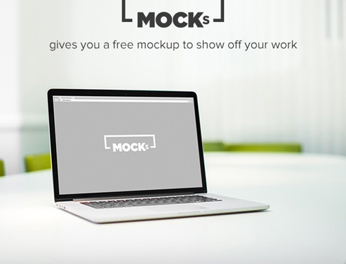 Free Macbook Mockup Set