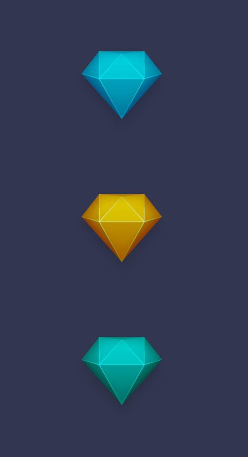How To Create a Stunning Diamond Icon In Illustrator