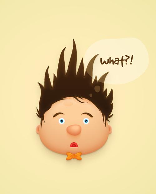 Create a Fun Cartoon Character Face in Adobe Illustrator