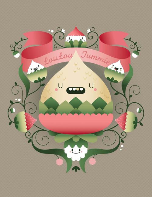 Design symmetrical Character Art in Adobe Illustrator