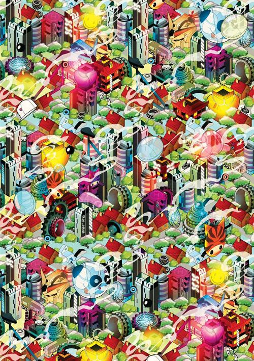How to Design an isometric city artwork in Adobe Illustrator