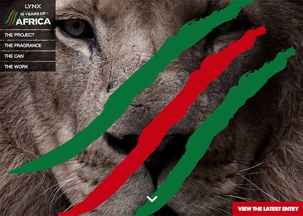 Lynx Africa 18 years
