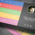 Post thumbnail of Free Modern Business Card Mockup (PSD)
