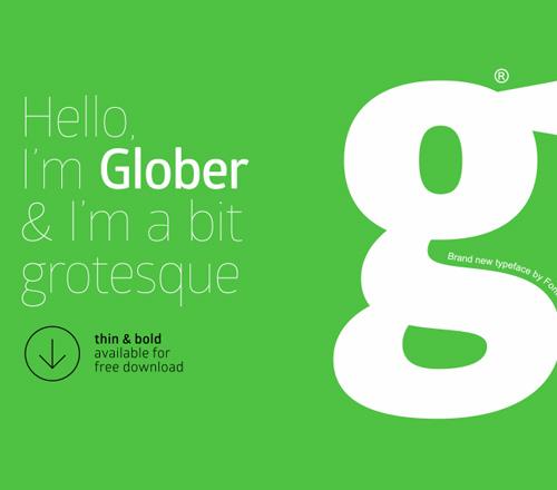 Free Font Globar
