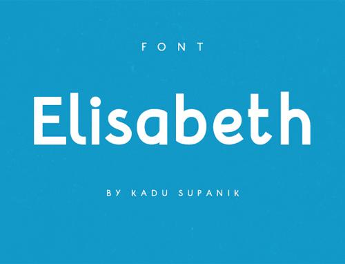 Free Font Elisabeth