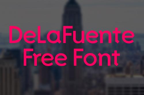 Free Font De La Fuente
