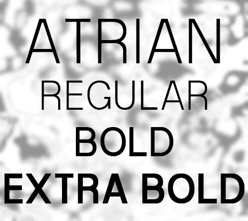 Free Font Atrian