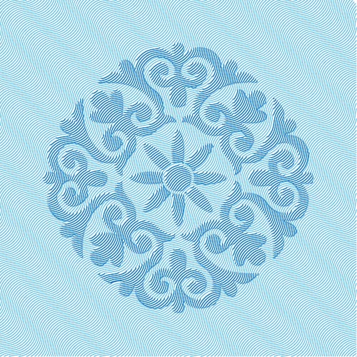 How to Create Vector Hatching and Embossed Pattern In Adobe Illustrator