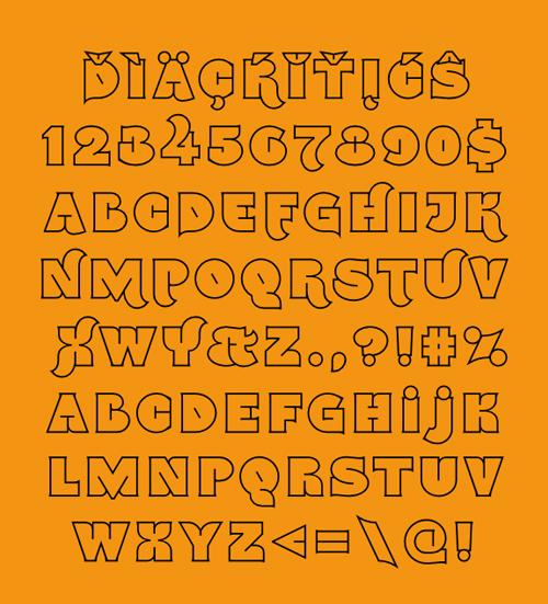 Namskout Font
