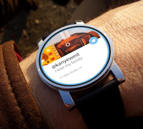 Twitter Watch Concept