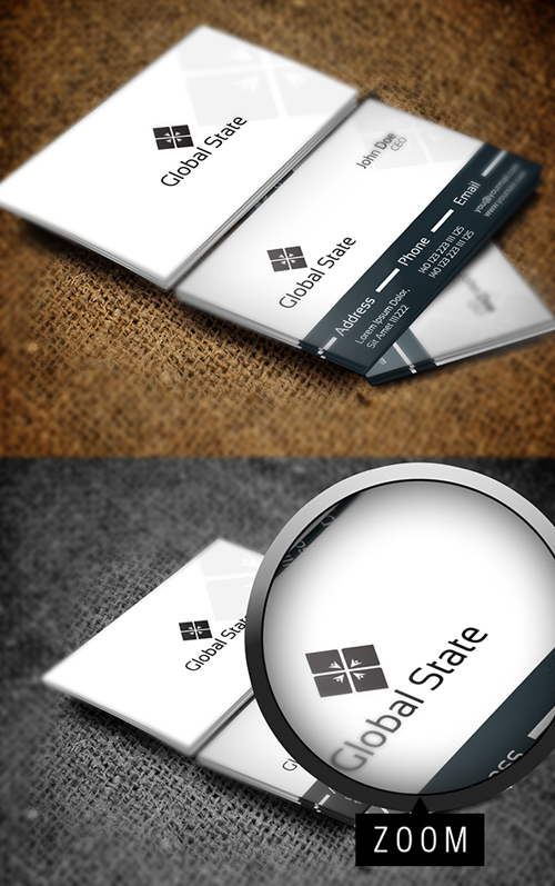 Global State Business Card