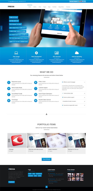 PRESSA - Multi Purpose WordPress Theme