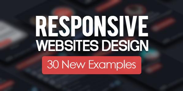 Responsive Design Websites 30 New Examples