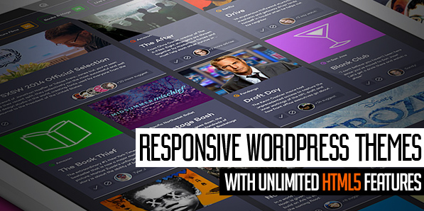 Modern Responsive WordPress Themes with Unlimited HTML5 Features