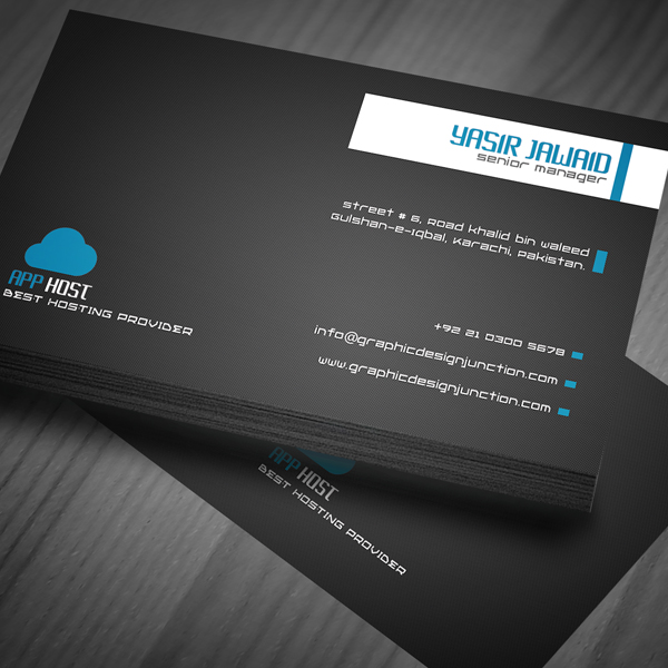 Free Corporate Business Card View 1