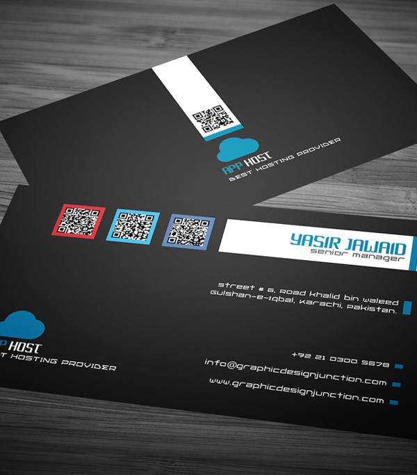 Free Corporate Business Card View 3