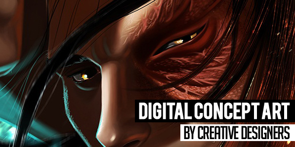 Best of 2014 - 28 Amazing Digital Concept Art by Creative Designers