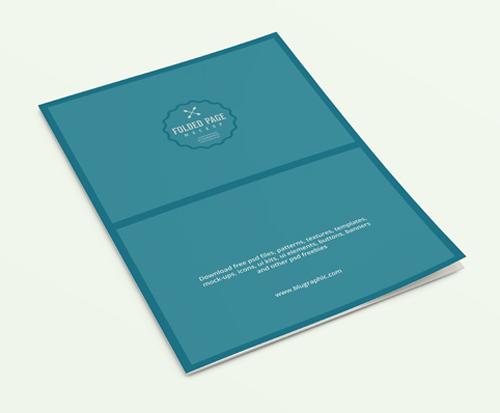 Folded Page Mockup (psd)