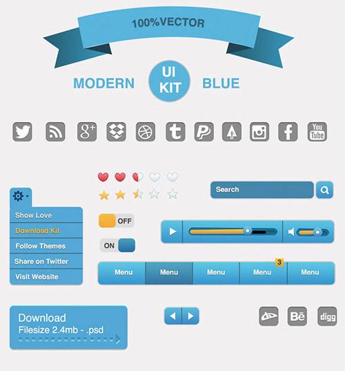 Free Vector UI Kit