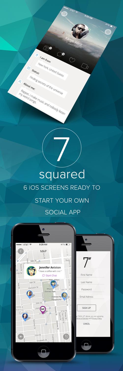 Social App Template