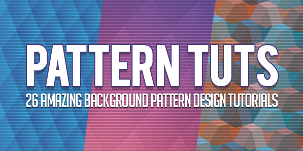 Pattern Tutorials: 26 Amazing Background Pattern Design Tutorials