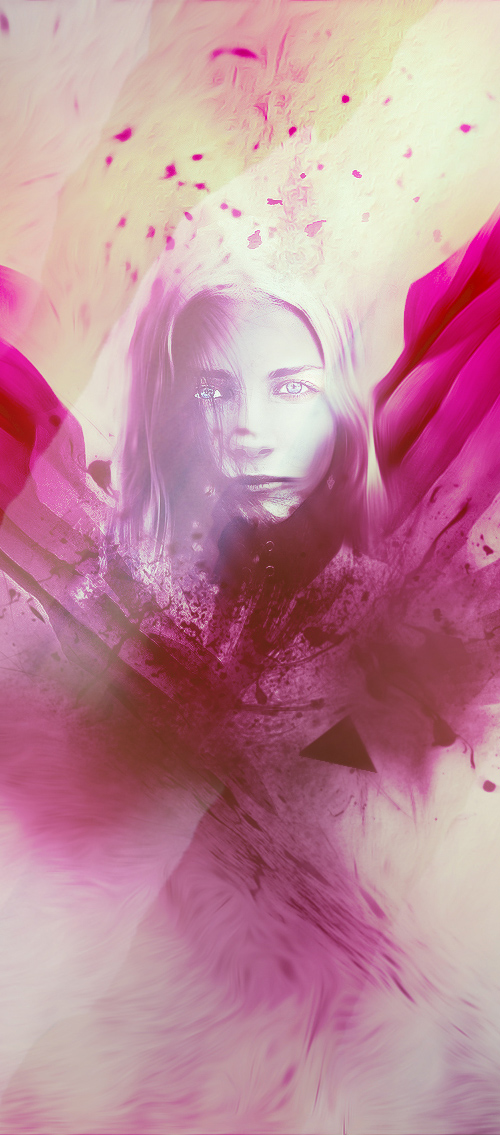 Create Unique Photo Effect with Abstract Brushes and Coloring Techniques in Photoshop