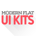 Post thumbnail of PSD Kits: 18 New Flat UI Kits with Modern UX