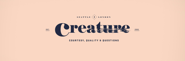 Creature Identity Branding Logo