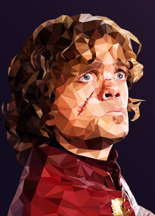 Low-Poly Portrait Illustrations for Inspiration - 10