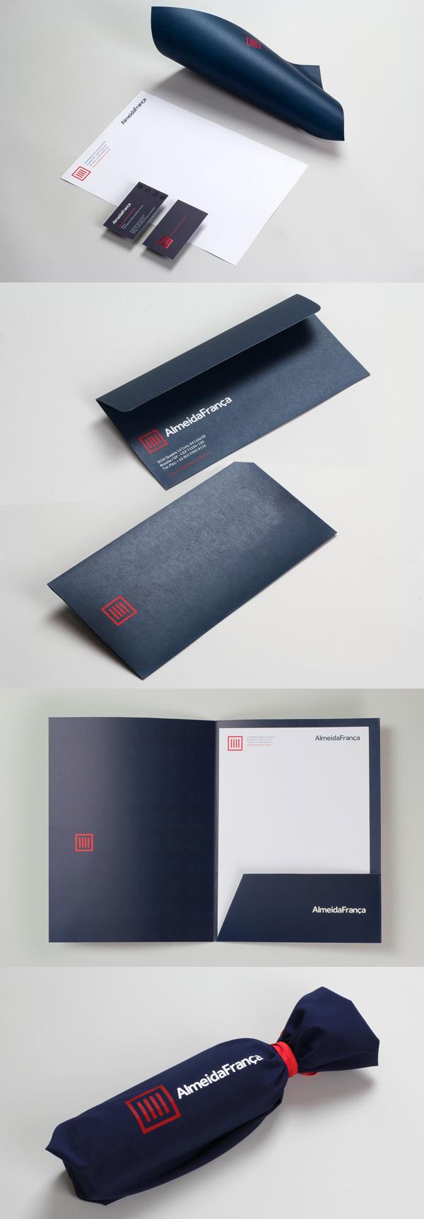 Almeida Franca Branding Stationery