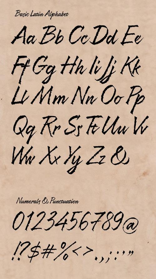 Resphekt Free Fonts 11