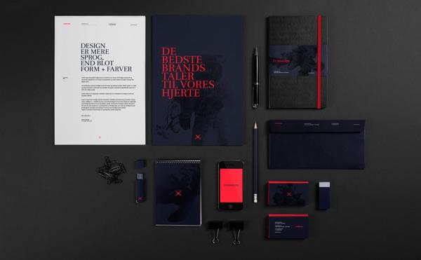 Formløs Brand Lab Branding Stationery