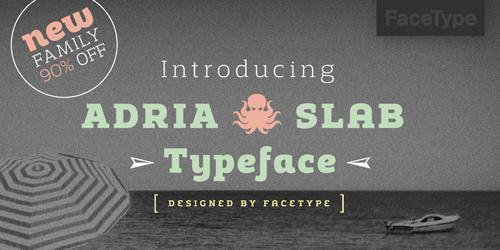 Adria Slab free fonts