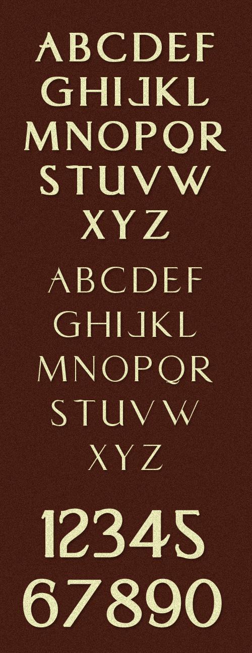 Chevia Free Fonts 14