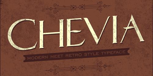 Chevia free fonts