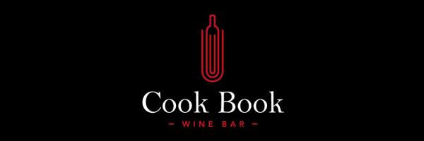 Cook Book Wine Bar Branding Logo