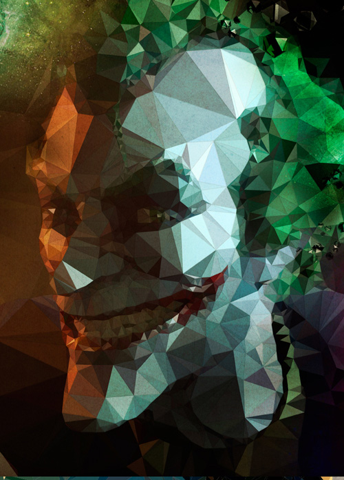 Low-Poly Portrait Illustrations for Inspiration - 19
