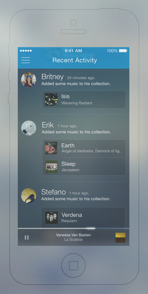 Amazing Mobile App UI Designs with Ultimate User Experience - 20