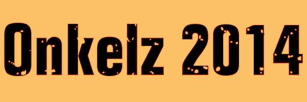 Onkelz 2014 Font Free Download