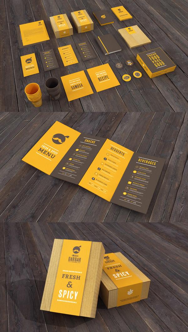 Restaurant Branding Stationery