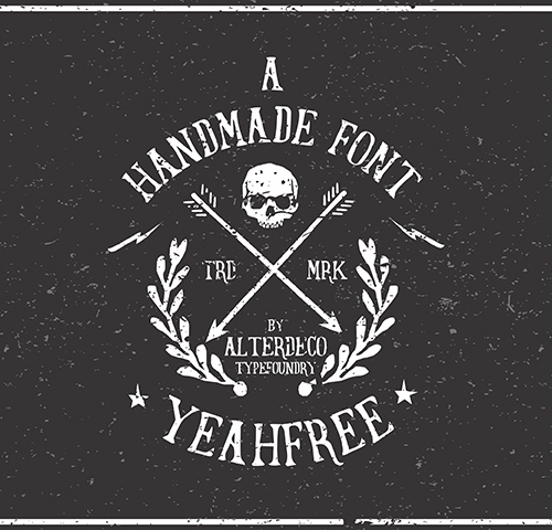 Yeahfree free fonts