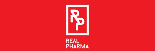 Real Pharma Branding Logo