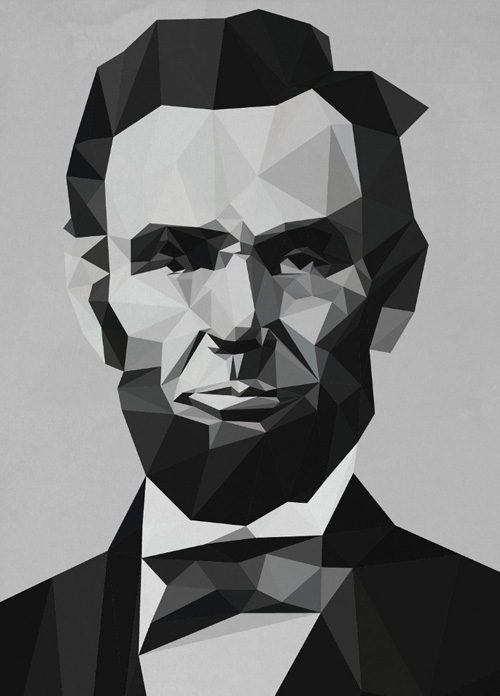 Low-Poly Portrait Illustrations for Inspiration - 22
